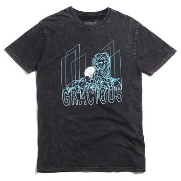 Aqueduct T-Shirt Washed Black
