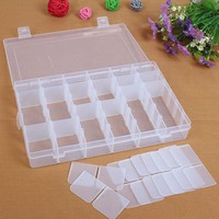 36 Grid Plastic Adjustable Jewelry Organizer Box Storage Container Case  HG99