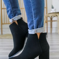 Tia Booties - Black