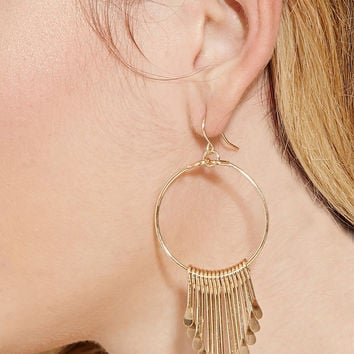 Ladies Strong Character Fashion Tassels Earrings [4956889732]