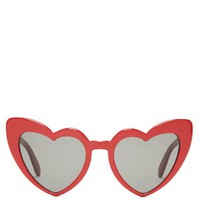 Loulou heart-shaped acetate sunglasses | Saint Laurent | MATCHESFASHION.COM US