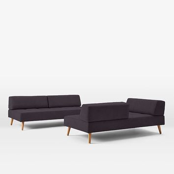 Retro Tillary 2-Sofa Sectional
