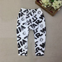 Baby Boys Star Wars Print Harem Pants Boy Autumn Cotton Leggings Kids Winter Fashion Trousers 2017 New 0-5Yrs Free Shipping 30D