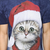 Santa Kitty Tee - Urban Outfitters