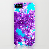 purple tree XVIII iPhone & iPod Case by blackpool