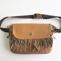 Bohemian Fanny Pack/Tribal Fanny Pack/ Tribal Belt Clutch/ Hip Clutch/ Indian Hip Clutch.
