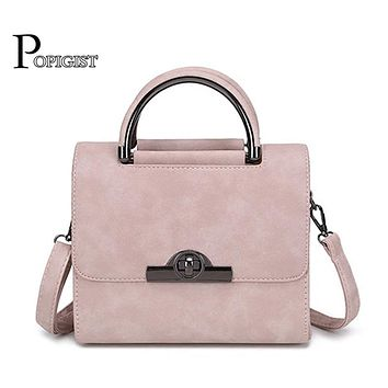 2017 New women's Messenger Shoulder Bag Women Small Leather Crossbody bag Work party Character Handbag