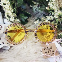 Strawberry Fields Sunnies in Marigold