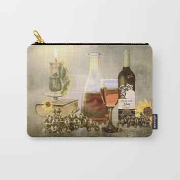 Dreams of Tuscany Carry-All Pouch by Theresa Campbell D'August Art