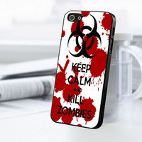 Keep Calm And Kill Zombie iPhone 5C Case