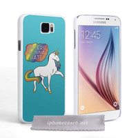 Taylor Swift Unicorn Haters gonna hate for Samsung Galaxy S6