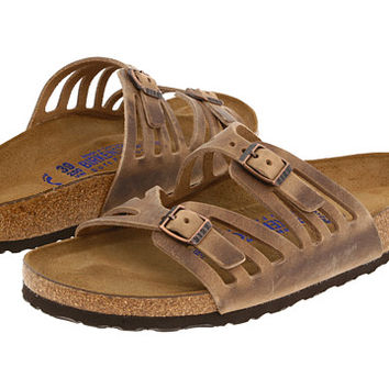 Birkenstock Granada Soft Footbed Habana Oiled Leather - Zappos.com Free Shipping BOTH Ways