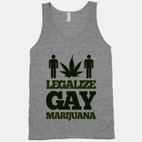 Legalize Gay Marijuana (tank)