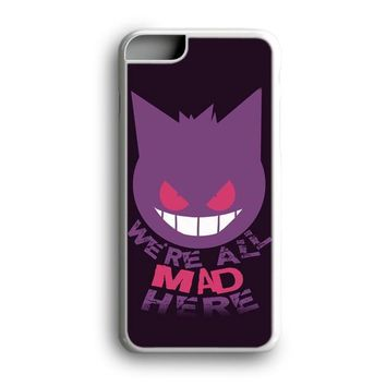 Black Friday Offer We're All Mad Here Gengar Pokemon iPhone Case & Samsung Case