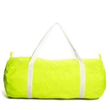American Apparel Duffle Bag in Neon Yellow