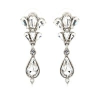 mytheresa.com - Crystal drop earrings - Luxury Fashion for Women / Designer clothing, shoes, bags