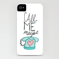 Call Me... Maybe? iPhone Case by Leah Flores | Society6