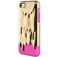 SwitchEasy Melt Hybrid Case for iPhone 5C - Retail Packaging - Hot Gold
