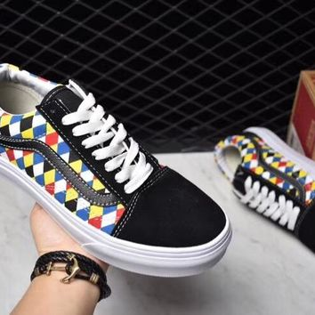 Urban Outfitters x Vans  Card shoes, white low white fashion shoes