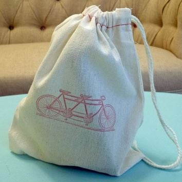 Fabric Tandem Bike Sack