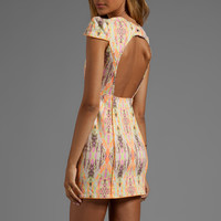 Finders Keepers Dream People Dress in Fluro Ikat/Orange Fizz from REVOLVEclothing.com