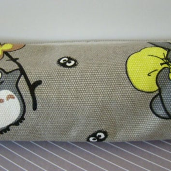 Gray Totoro Pencil Pouch