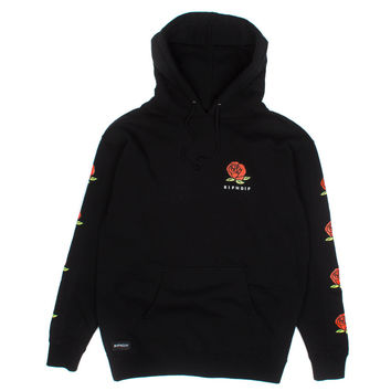 Lord Nermal Roses Pullover Black