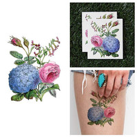 Garden Path - Temporary Tattoo (Set of 2)