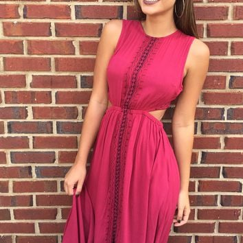 Young Love Dress - Red