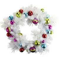 Pre-Lit Holiday Wreath