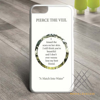 Pierce The Veil Song Lyrics 2 Custom case for iPhone, iPod and iPad