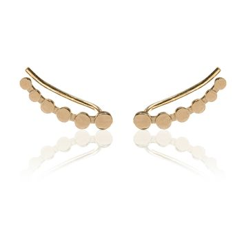 Climbing Points Earring