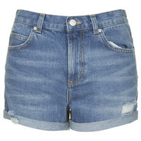 MOTO Vintage Rosa Shorts - Mid Stone