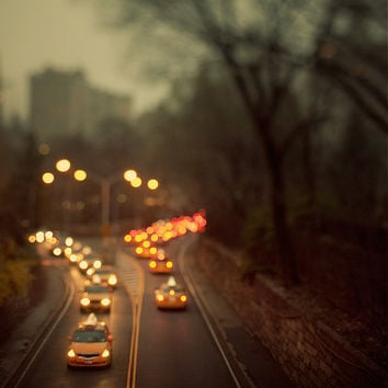 Taxicab Confessions  Dreamy travel photograph  by irenesuchocki
