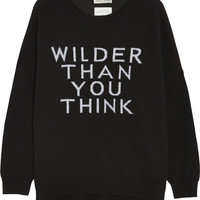 EACH X OTHER - Wilder Than You Think merino wool-blend sweater
