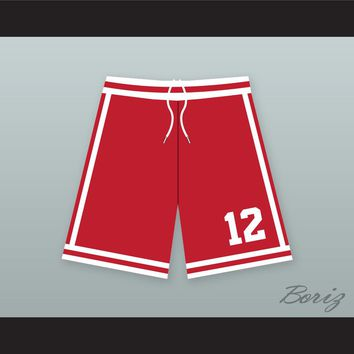 Ricky Bell 12 New Edition Red Basketball Shorts