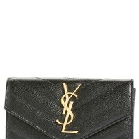 Saint Laurent 'Monogram' Quilted Leather French Wallet | Nordstrom