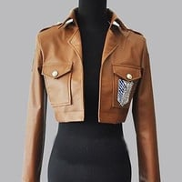 Attack on Titan - Embroidered Cosplay Military Jacket
