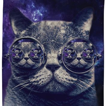 ROSC Hipster Cat Shower Curtain