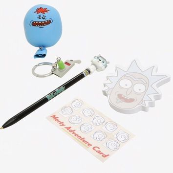 FUNKO POP Rick & Morty, snowball pen, portal gun keychain and accessories