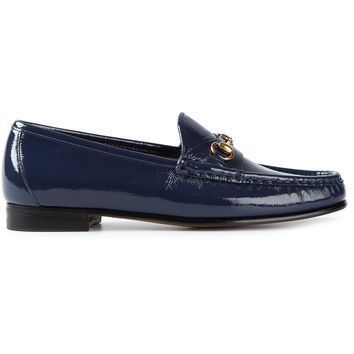 Gucci Buckle Detail Loafers