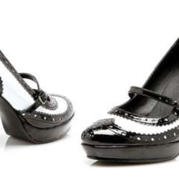 Costume Shoes: Women's Flapper | Size: 7
