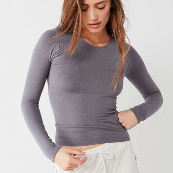 Out From Under Markie Long Sleeve Ribbed Top | Urban Outfitters