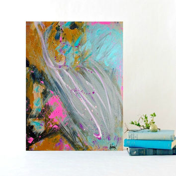 Abstract Art Painting Modern Abstract Art Decor - Original Painting on Canvas