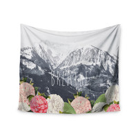 "Suzanne Carter ""Breathe"" Floral Landscape Wall Tapestry"