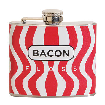 Bacon Floss Fun 5-ounce Multi-color Party Flask   Overstock.com Shopping - The Best Deals on Bar & Wine Gifts