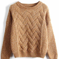 Cupshe Young And Beautiful Knitting Sweater