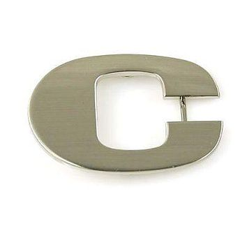 "Copy of Initial Letter Stainless Metal ""C"" Buckle-C Initial Belt Buckle-Brand New!"