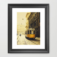 Milano Framed Art Print by THEPALMER