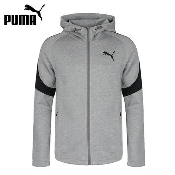 Original New Arrival 2018 PUMA  Men's jacket Hooded Sportswear